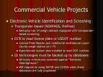 commercial vehicle projects