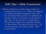 edit tips glide consonants1