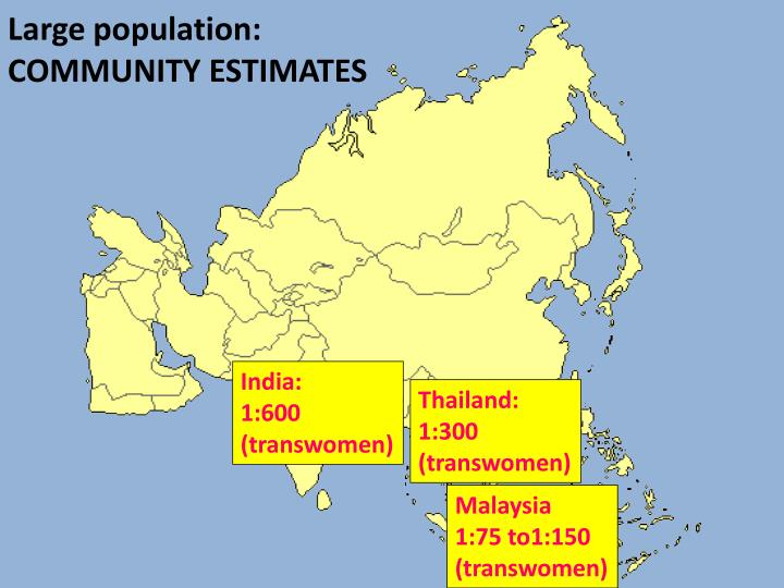 Large population: