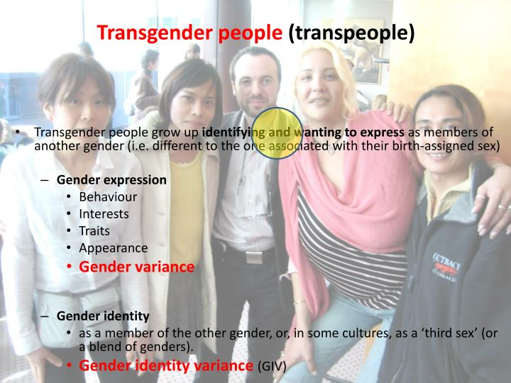 Transgender people