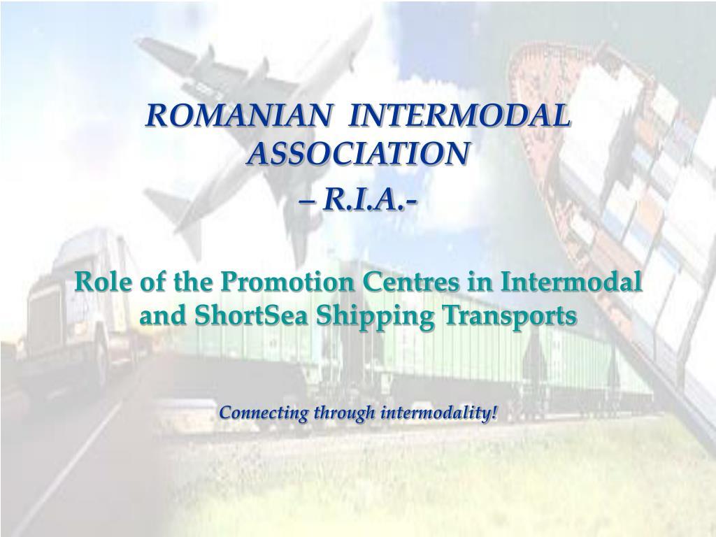 ROMANIAN  INTERMODAL