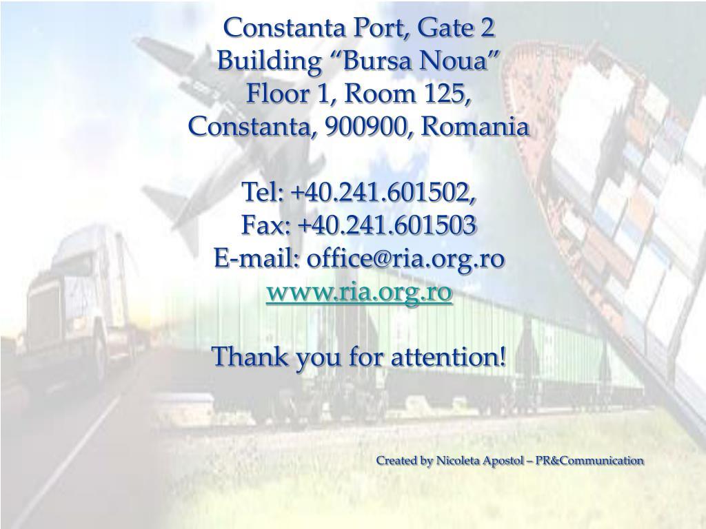 Constanta Port, Gate 2
