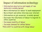 impact of information technology2