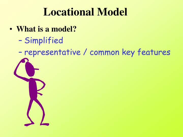 Locational Model