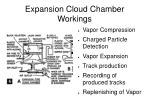 expansion cloud chamber workings