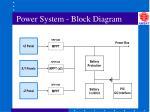 power system block diagram