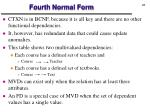 fourth normal form1