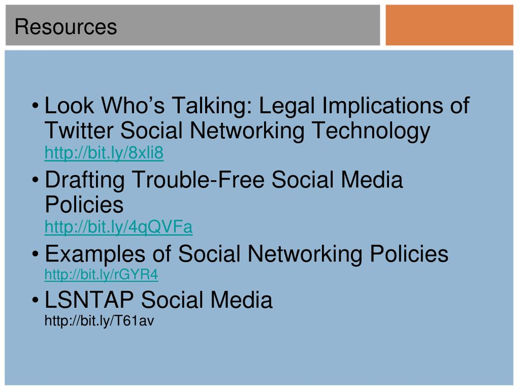 Look Who's Talking: Legal Implications of Twitter Social Networking Technology