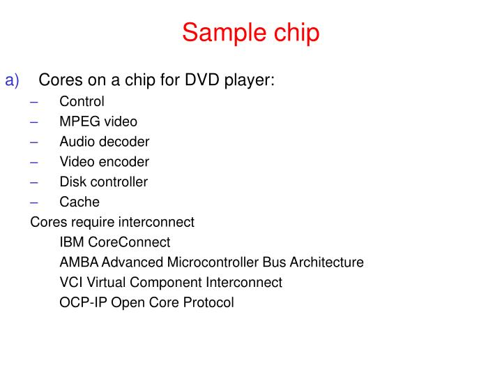 Sample chip