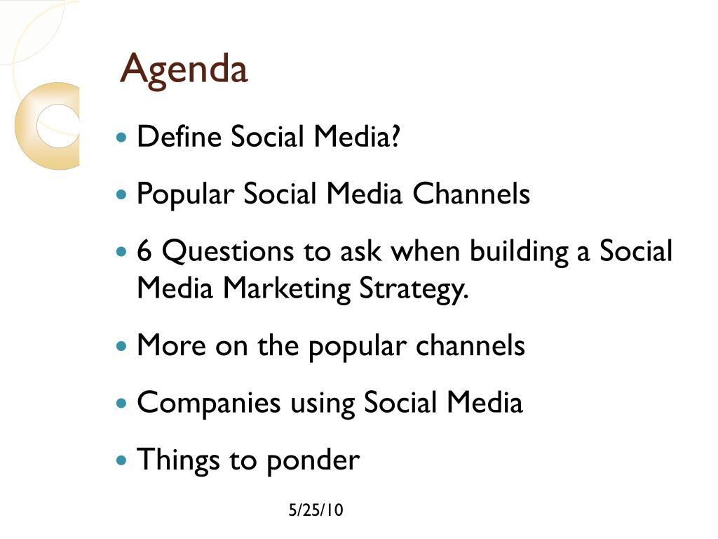 Define Social Media?
