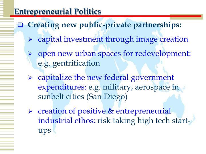 Entrepreneurial Politics