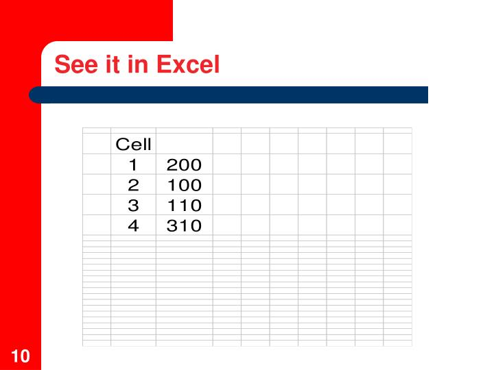 See it in Excel