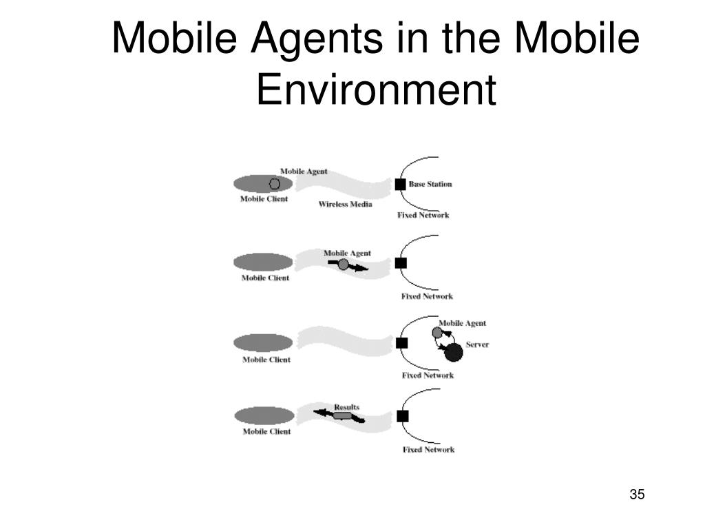 Mobile Agents in the Mobile Environment