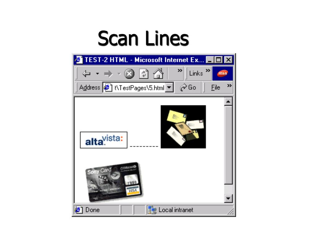 Scan Lines