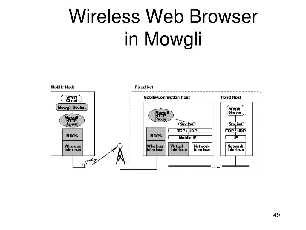 Wireless Web Browser