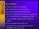 boot baths