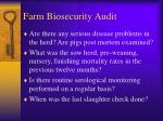farm biosecurity audit11