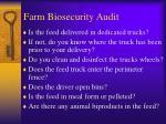 farm biosecurity audit2