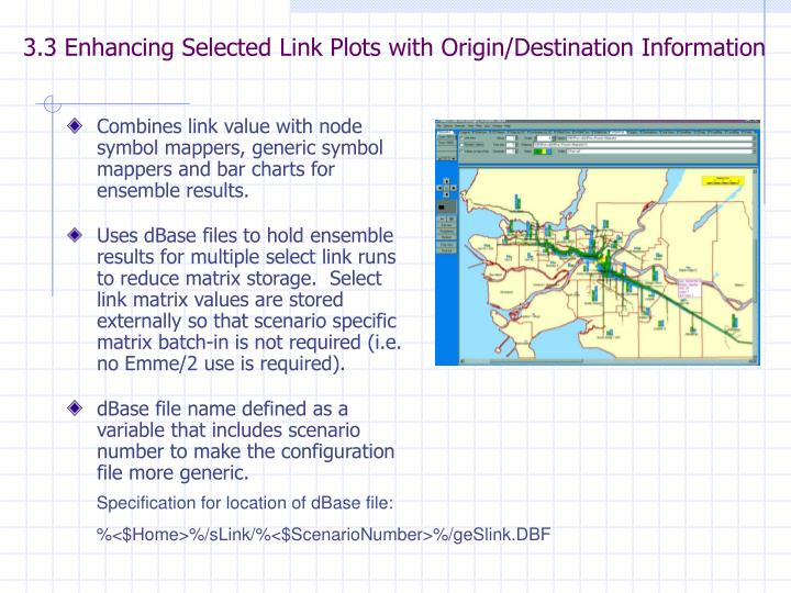 3.3 Enhancing Selected Link Plots with Origin/Destination Information