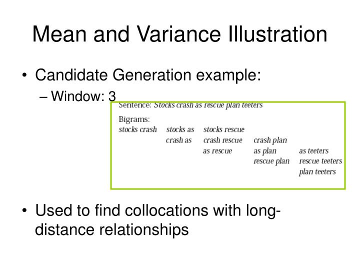 Mean and Variance Illustration