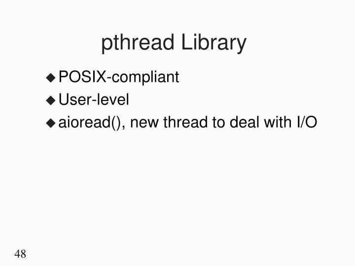 pthread Library
