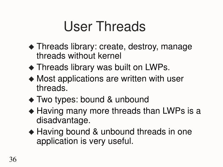 User Threads