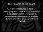 the parable of the yeast10