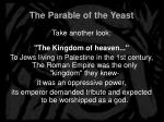 the parable of the yeast2