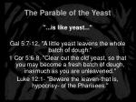the parable of the yeast5
