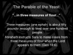 the parable of the yeast9