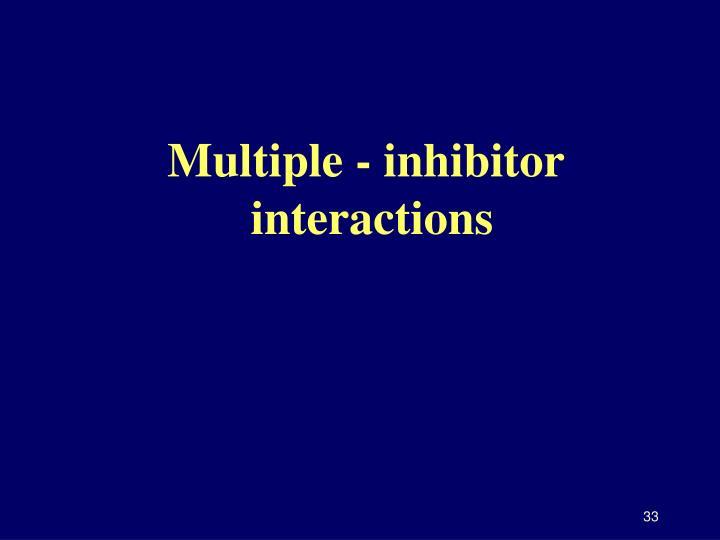 Multiple - inhibitor