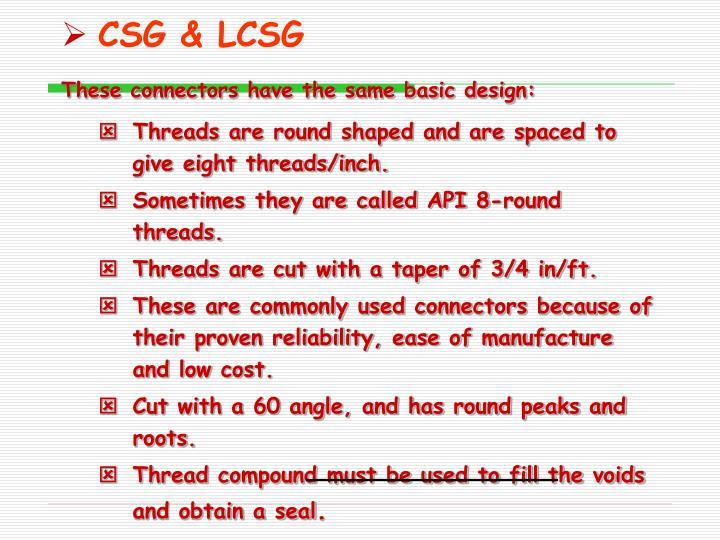 CSG & LCSG