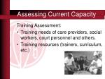 assessing current capacity7