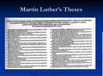 martin luther s theses