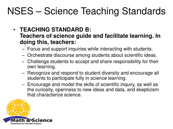 NSES – Science Teaching Standards