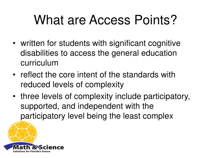 What are Access Points?