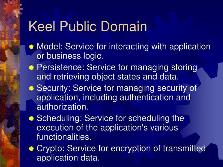 Keel Public Domain