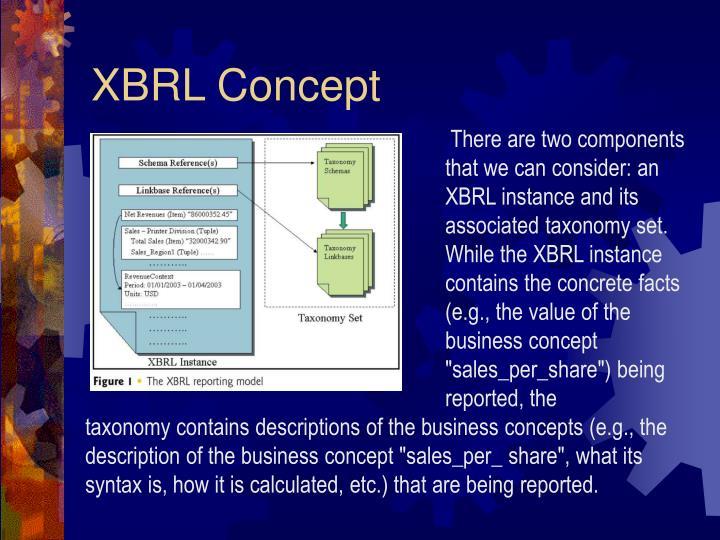 XBRL Concept