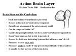 action brain layer arlene taylor phd realizations inc