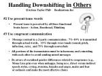 handling downshifting in others arlene taylor phd realizations inc1