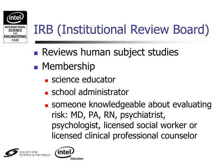 IRB (Institutional Review Board)
