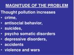 magnitude of the problem1