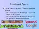 location access