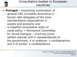 consultative bodies in european countries3