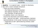consultative bodies in european countries4