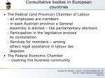 consultative bodies in european countries5