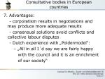 consultative bodies in european countries8