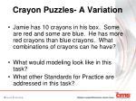 crayon puzzles a variation