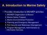 a introduction to marine safety