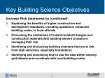 key building science objectives2